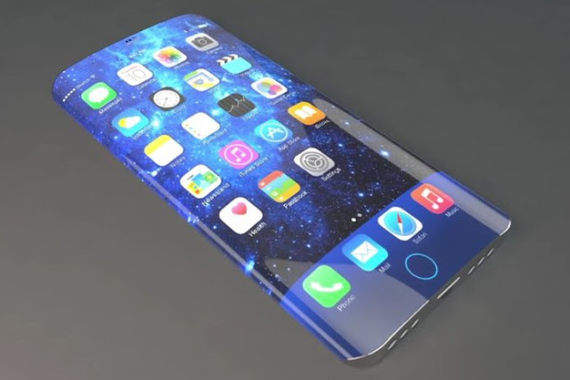 2017 iPhone rumored to feature Edge-to-edge Display with Embedded ...