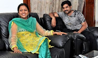 TV anchor Suma with Husband Rajeev Kanakala Pics