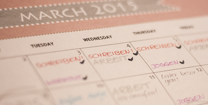 Beim Schreiben einen Plan zu haben, hilft. Foto © fieberherz.de