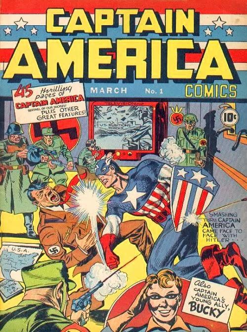 Captain America Comics #1 comic book
