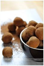 Trufas de chocolate (fórmula pastelera)