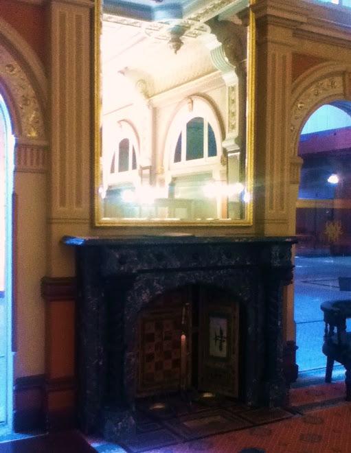 Palace Hotel Fireplace