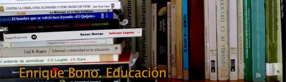 Enrique Bono. Educación