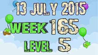 Angry Birds Friends Tournament level 4 Week 165
