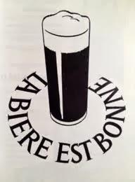 La bière est bonne