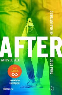 "Se revela la portada de ""After: antes de ella"" en español."