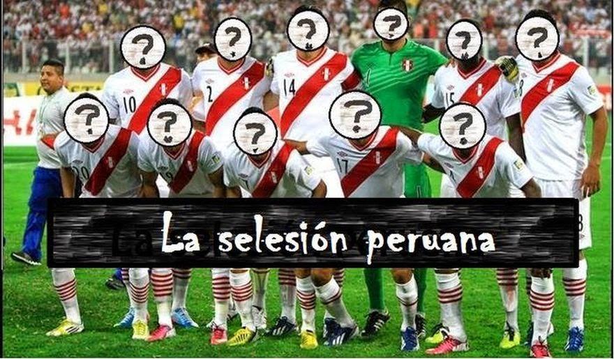 La selesión peruana