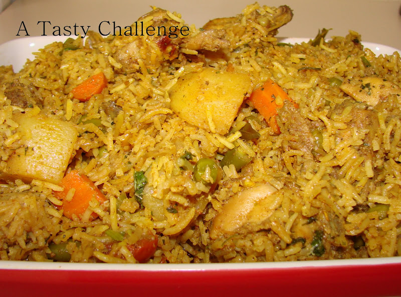 Chicken and Veggie Rice