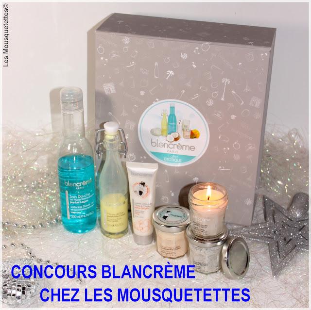 Résultat Concours Blancrème chez Les Mousquetettes©