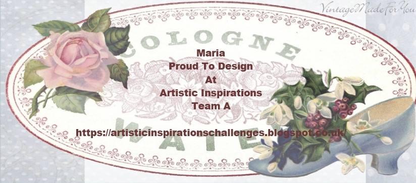 DT Artistic Inspiration Chasllenge Blog