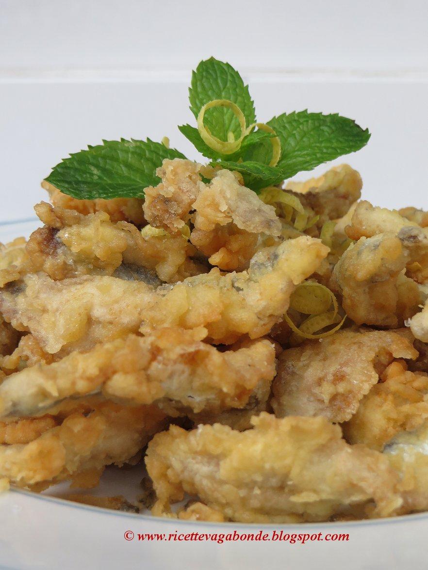ricette vagabonde: Alici fritte, come fare mangiare il pesce ai ...