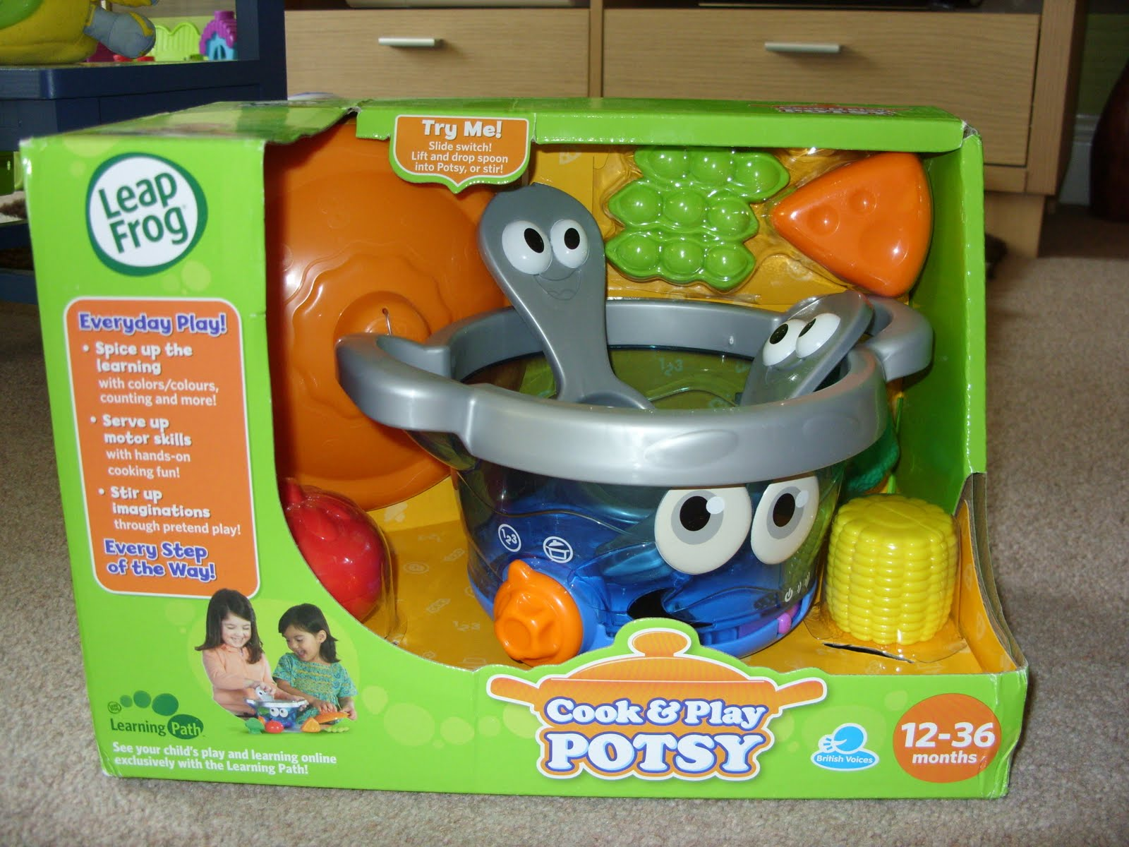 The Breastest News Review Leapfrog Cook & Play Potsy