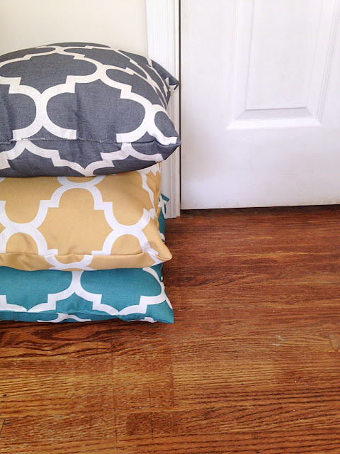 damask throw pillows multicolor