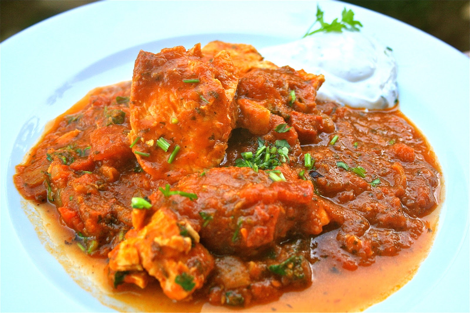 Johnny's Kitchen: Punjabi Chicken Vindaloo