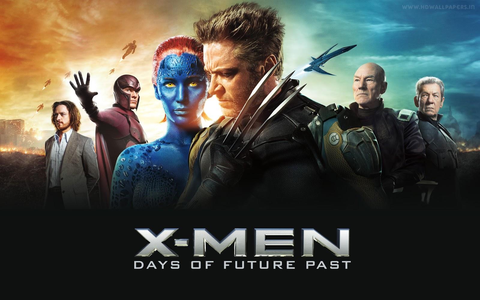 X-Men DOFP Hugh Jackman Jennifer Lawrence Michael Fassbender James McAvoy Patrick Stewart Ian McKellen