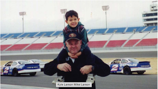 Like Father, Like Son – Larson Had Racing In His Blood