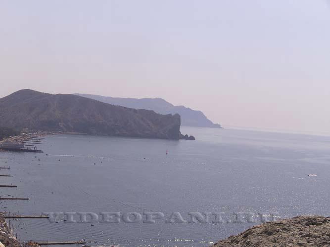 Vid na more i gory Sudak