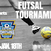 FUTSAL TOURNAMENT ANNOUNCEMENT