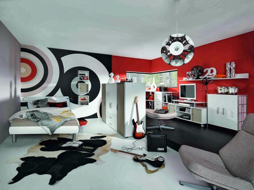Dise os de dormitorios para adolescentes modernos ideas for Disenos de cuartos para hombre