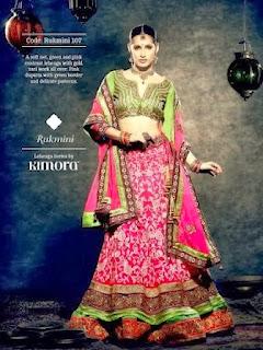 Bridal Lehenga Choli 2014-15