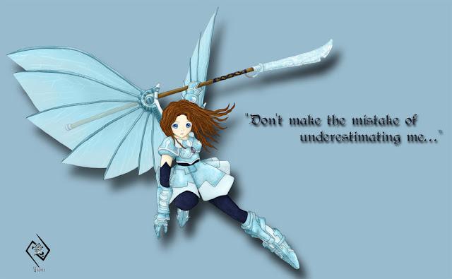 Ashari: Dragoon of Ice por Yunimori