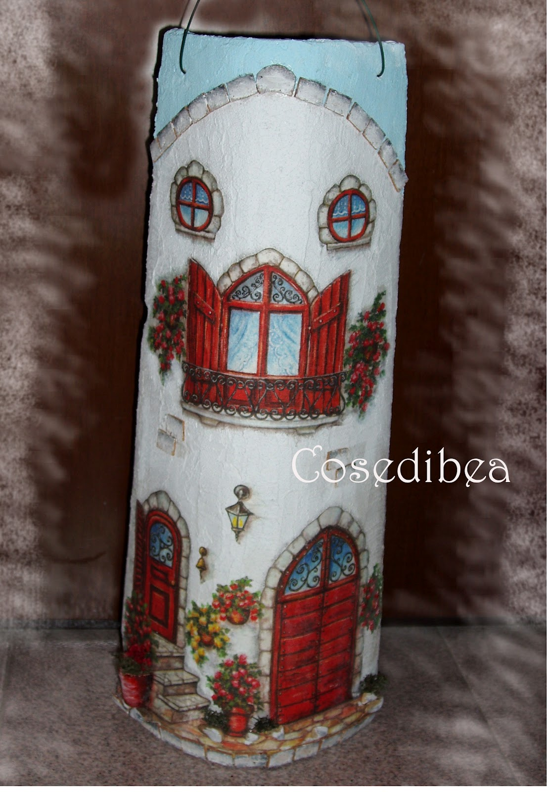 Cosedibea coppi decorati decoupage - Coppi decorati in rilievo ...