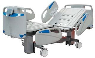 camas articuladas ou de hospital para uso em meios de elevado risco bacterologico