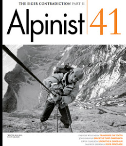 ....see my new article in Alpinist Magazine 41....called Vericality: the other blank on the map....
