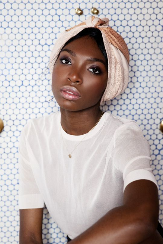 The Fulani Method | Using a silk scarf to infuse moisture into your ...
