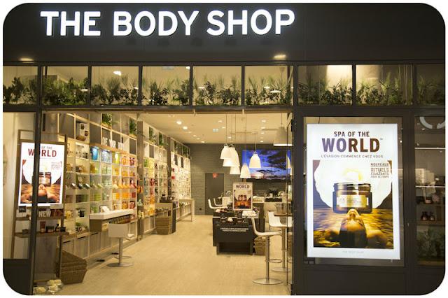 The Body Shop nouveau magasin