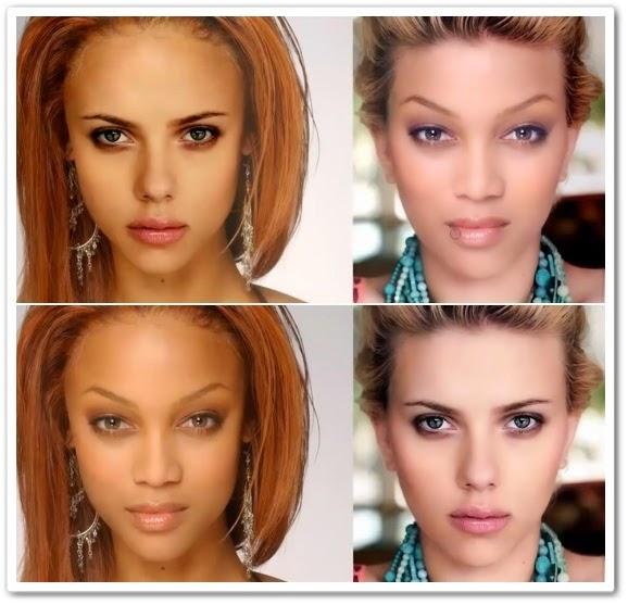 Как заменить лицо в фотошоп