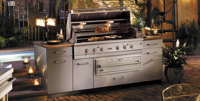 Viking appliance service repair california san for Viking outdoor grill
