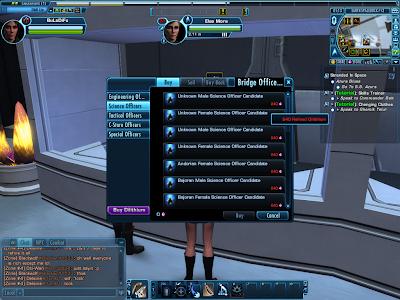 Star Trek Online - Bridge Officer Seller