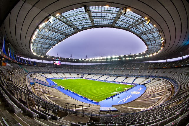 Around the world stadion francji stade de france - Superficie stade de france ...