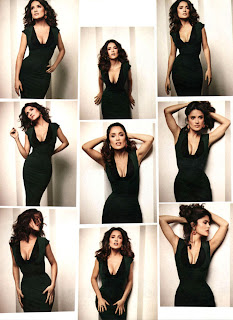 Salma Hayek photoshoot for Latin Magazine November 2011