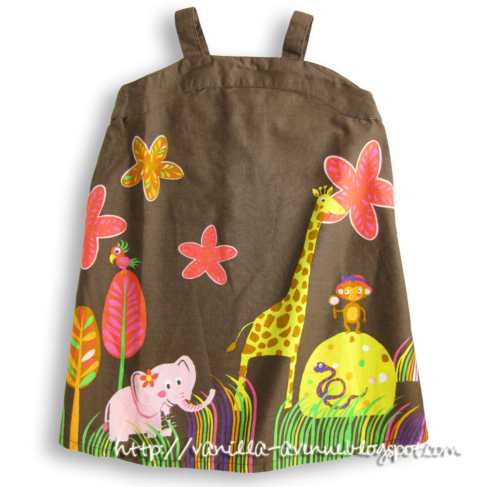 H&M/DISNEY My Animal Friends Play Dress in Chocolate