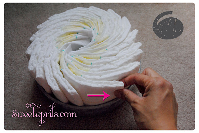 Do It Yourself A Diaper Bike (Baby Diaper Cake)