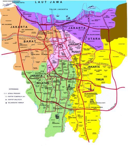 Download Peta Jakarta Terbaru