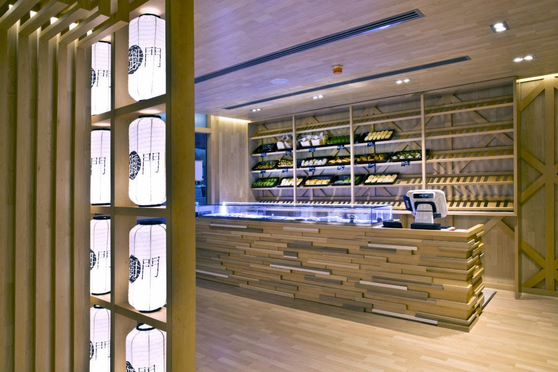 Mikado Cafe has chic wooden interiors and a highly trained team creating a welcoming ambience