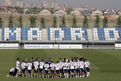 Last Real Madrid training