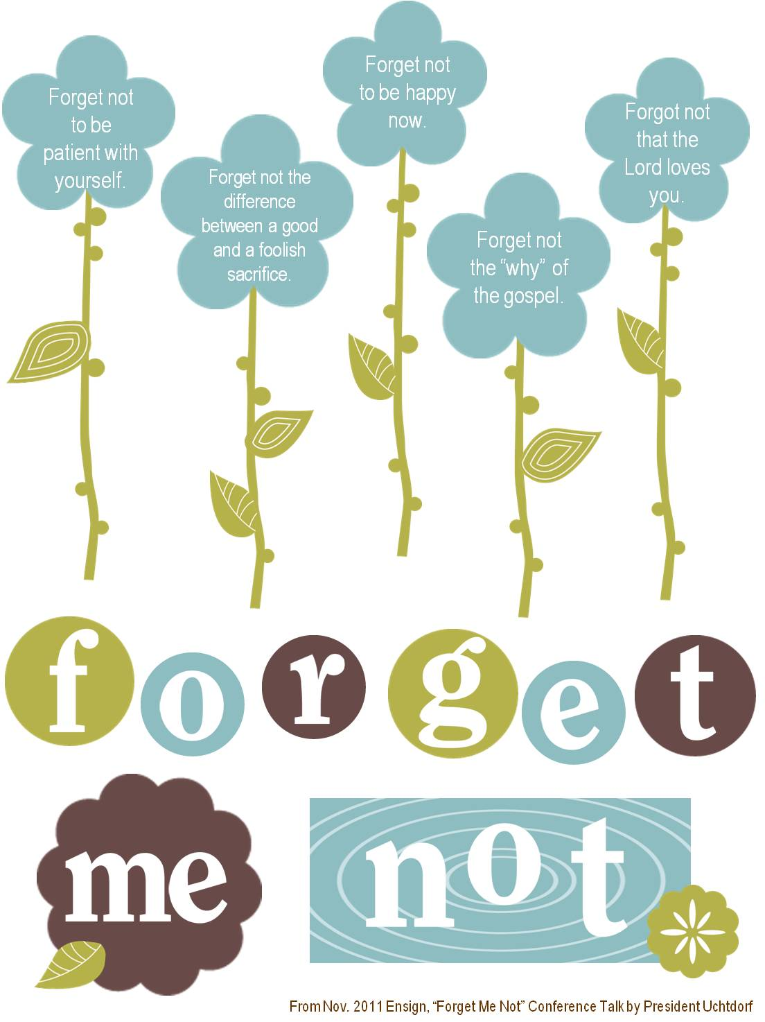 Forget-me-not - Photo Actress