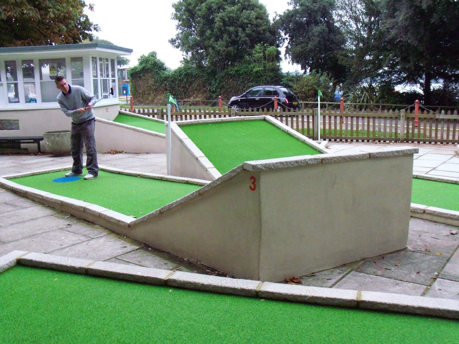 Poole Park Crazy Golf