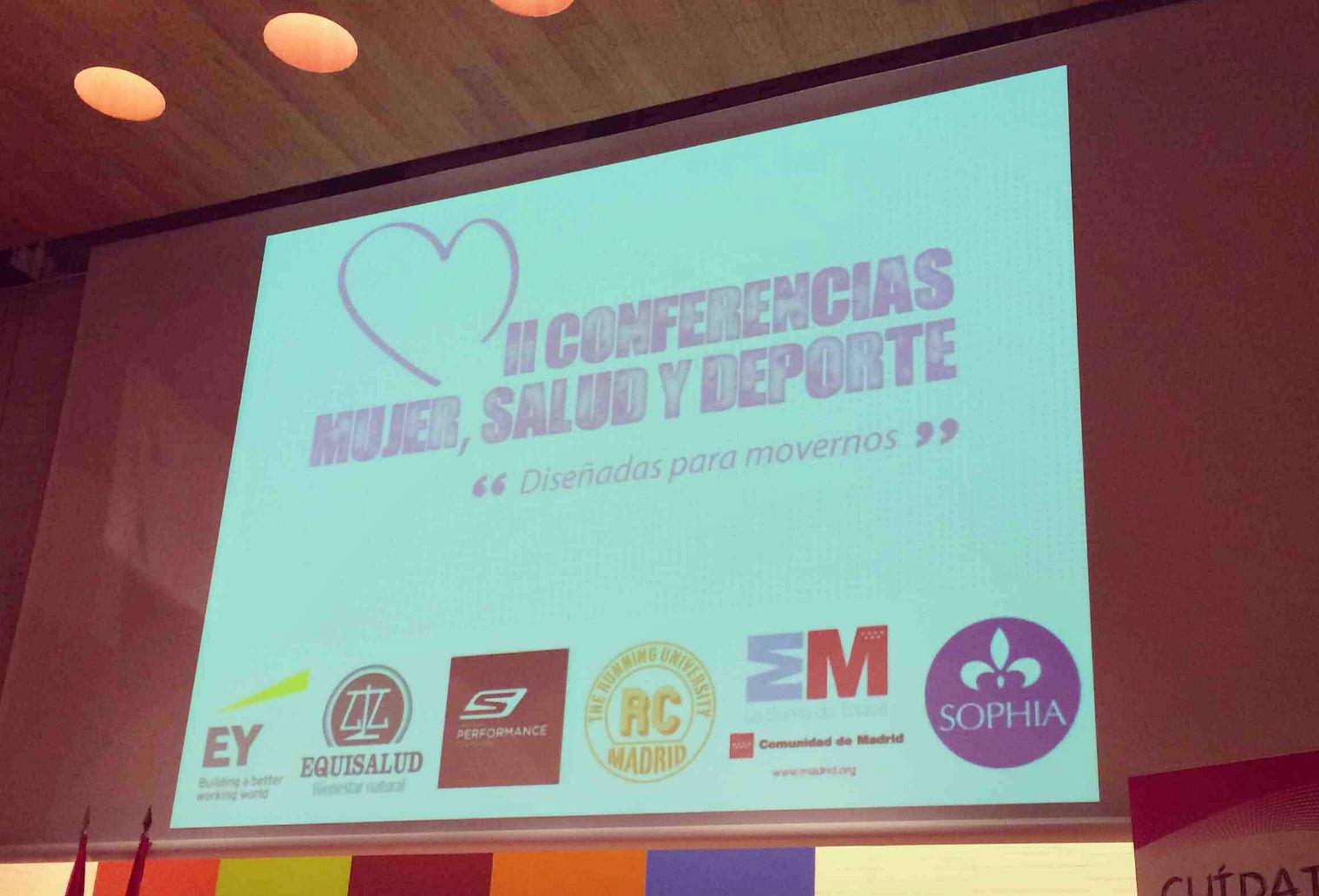 II Conferencias Mujer, Salud y Deporte #cmsd14 - Diseñadas para movernos (parte I)