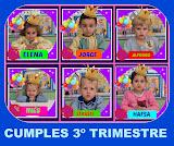 CUMPLES 3º TRIMESTRE