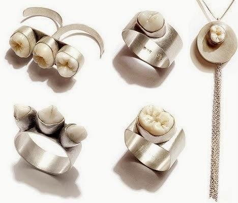 Terroríficos objetos relacionados con dientes y dentistas