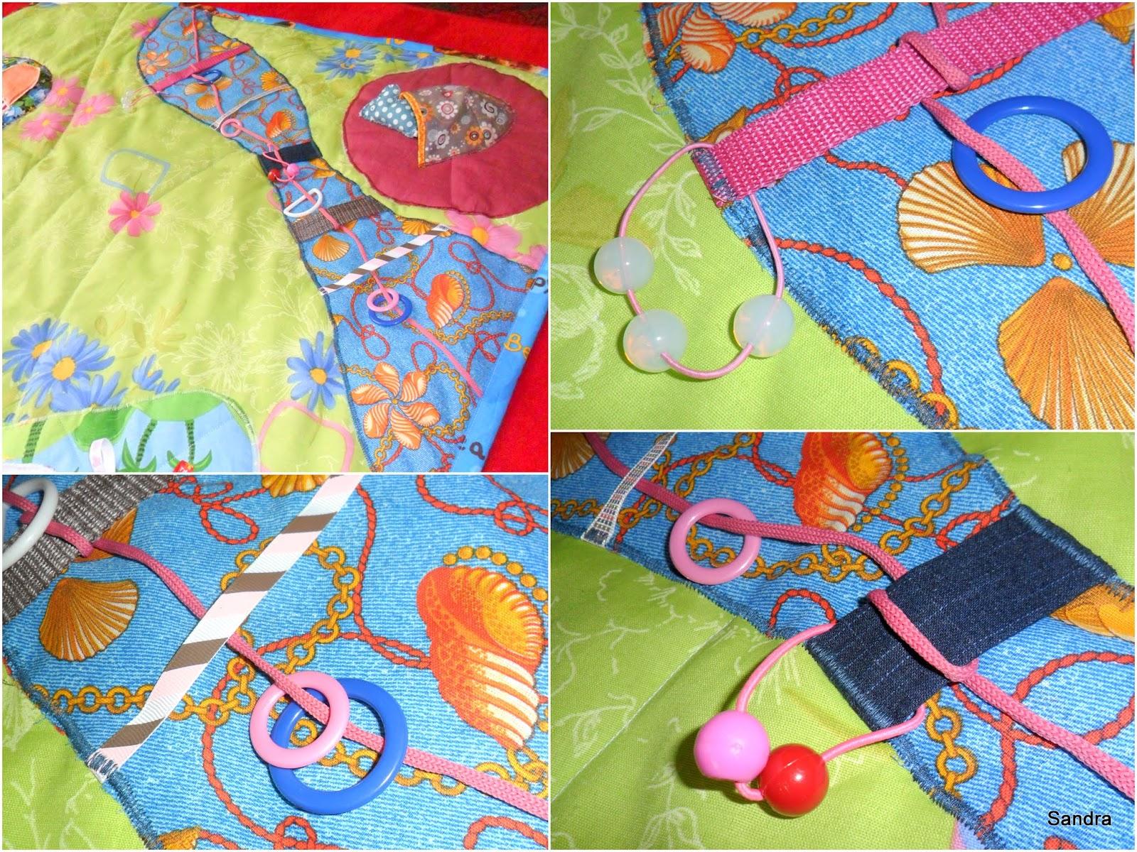 Сшить развивающий коврик своими руками из лоскутков