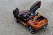 Renault Captur Concept renault captur concept interior