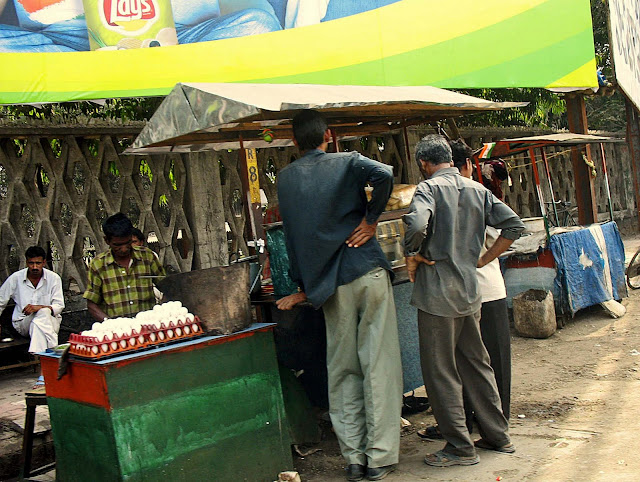 roadside food stall