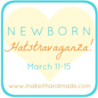 Newborn Hatstravaganza! Free hat patterns for the littlest heads from Make It Handmade.
