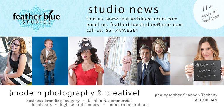 Feather Blue Studios Blog  |  Studio News